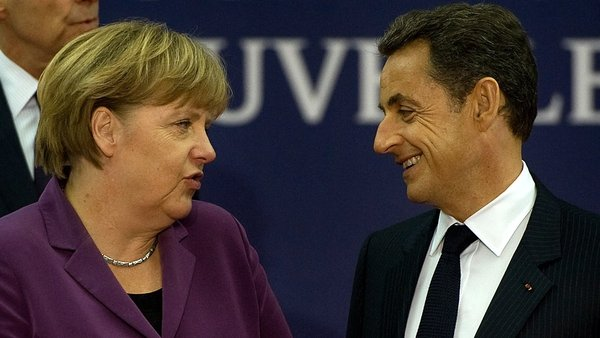 Angela Merkel & Nicolas Sarkozy in crucial meeting
