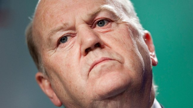 "Repossessions of family homes would be ""a residual option in extremis"", Noonan tells the Dail"