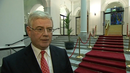 Eamon Gilmore says Ireland will promote peace, security and respect for human rights