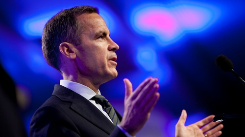 Bank of England Governor Mark Carney gives his most hawkish signal to date on UK rates