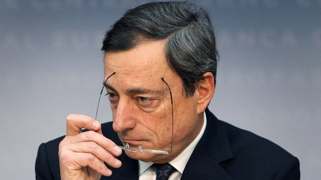 ECB chief Mario Draghi says markets ''less agitated'' by Italian election than politicians and the media