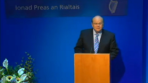€1.6bn of the adjustment will come from increased taxation measures, including €1bn from new tax measures