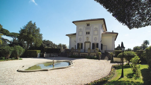 The ambassador to Italy will transfer to the Villa Spada