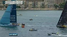 One News: Team Sanya suffers hull damage