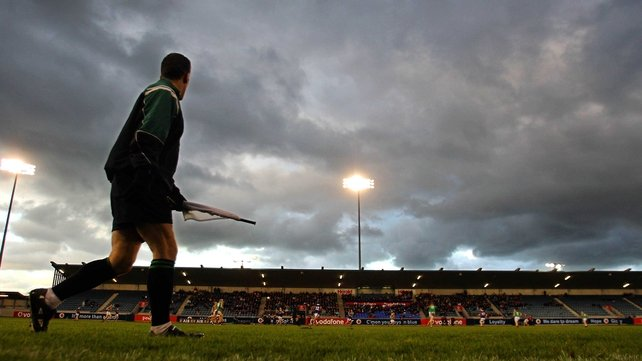 Parnell Park pitch unplayable due to the poor conditions