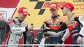 Stoner ends MotoGP season in style