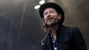 Radiohead's lead singer Thom Yorke