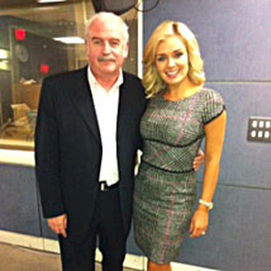 Marty Talks to Katherine Jenkins ahead of he concerts in Cork