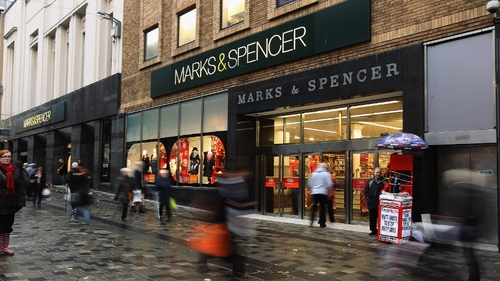 M&S said that overall trading in its third quarter was 'steady with some early encouraging signs'
