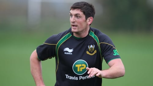 James Downey has played for Northampton Saints since 2007