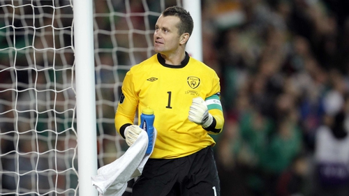 Shay Given: The Lifford custodian has 16 years of service between the posts for the Republic
