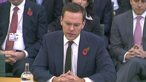 Mr Murdoch has been grilled by MPs for a second time