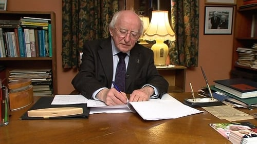 Mr Higgins was speaking to RTÉ news at his home in Galway