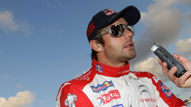 Sebastien Loeb extended his lead to 36 seconds in Mexico