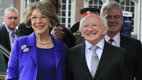 Michael D Higgins is the ninth President of Ireland
