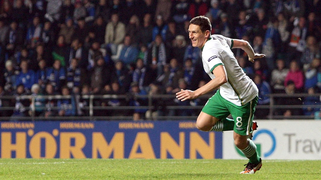 Keith Andrews deservedly put Ireland in front