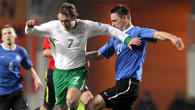 Aiden McGeady played a major part in Andrews' goal
