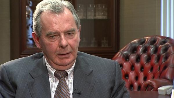 Sean Quinn was declared bankrupt in Northern Ireland