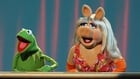 Kermit and Miss Piggy pictured in happier times