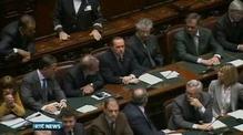 One News: Debate on Italian austerity measures