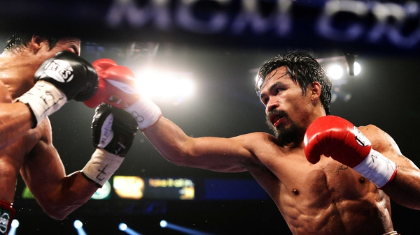 Manny Pacquiao (r) - Retained his WBO title on points