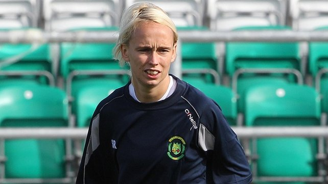 Stephanie Roche was on target for Peamount United in Sarajevo