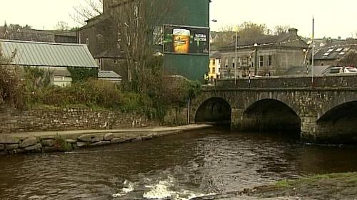 Gardaí found a man's body in the River Bandon