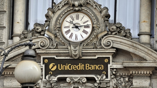 Unicredit said it booked €1.26 billion in net loan writedowns in the first quarter