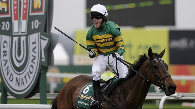 Don't Push It ended Tony McCoy's Grand National hoodoo at the 15th attempt