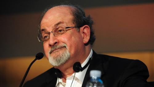 Salman Rushdie was not enjoying his online identity crisis