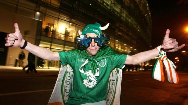 PJ Malloy is wearin' the green