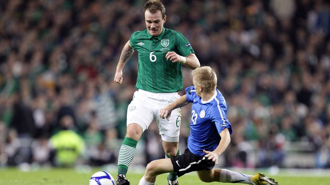 Glenn Whelan will win his 50th cap this evening