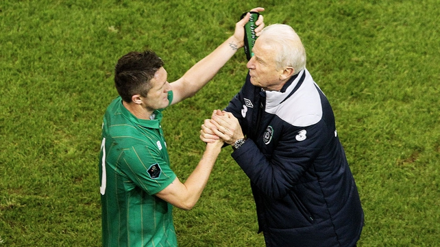 Giovanni Trapattoni hailed his 'fantastic team' after they qualified for Euro 2012