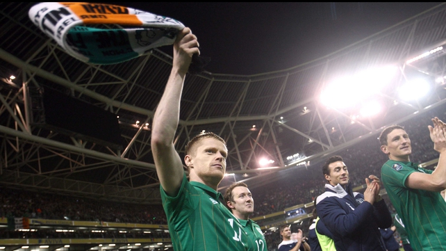 Damien Duff - Reaching Euro 2012 even better than getting to World Cup in 2002