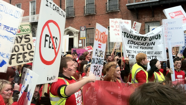 Students angry over reports that postgraduate grants may be scrapped