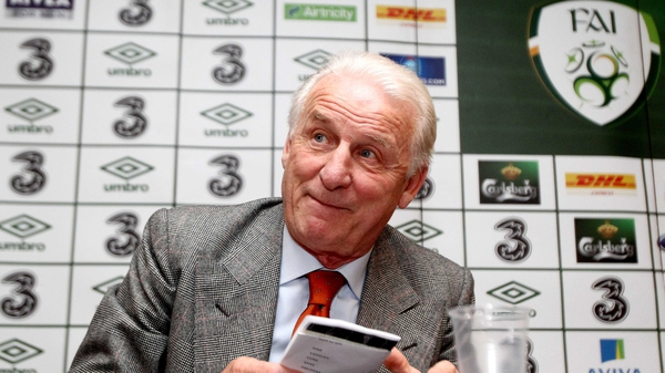 Giovanni Trapattoni will lead Ireland at their first European Championships in 24 years