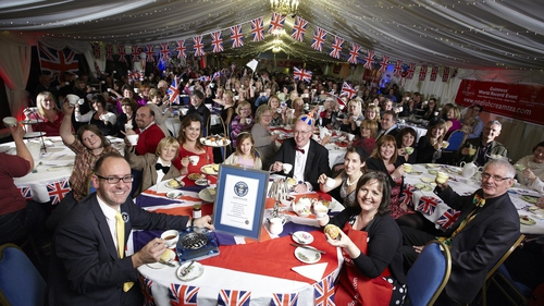 The largest ever cream tea party took place in Essex