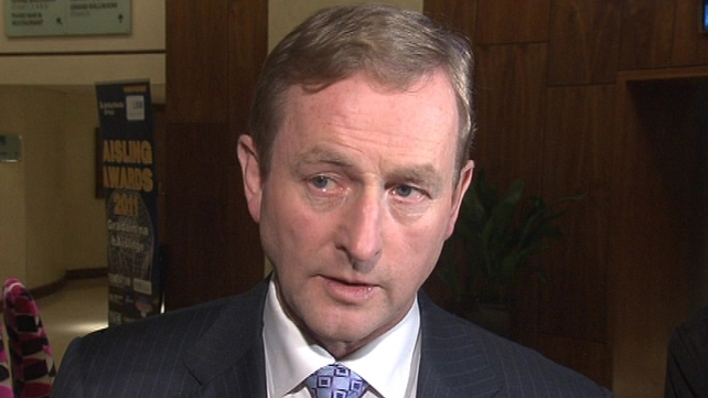 Kenny says the ECB must help provide a 'firewall' for at-risk countries