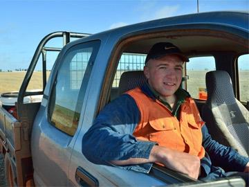 Arrivals: Larry Fay in Goolgowi, Australia