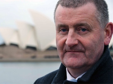 Arrivals: Declan Murphy in Sydney