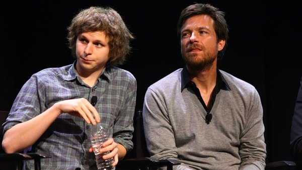 Michael Cera and Jason Bateman, two of the leading stars