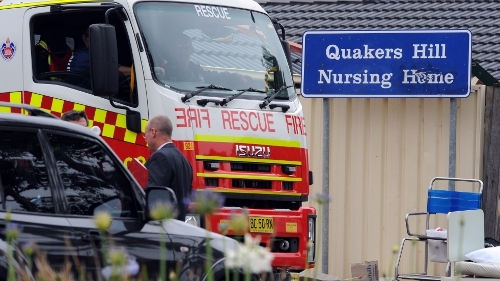 11 people perished in the fire at the nursing home in Sydney in 2011