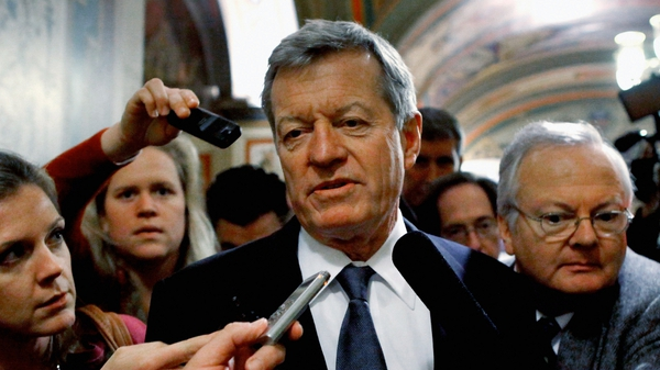 Senate Finance Committee Chairman Max Baucus