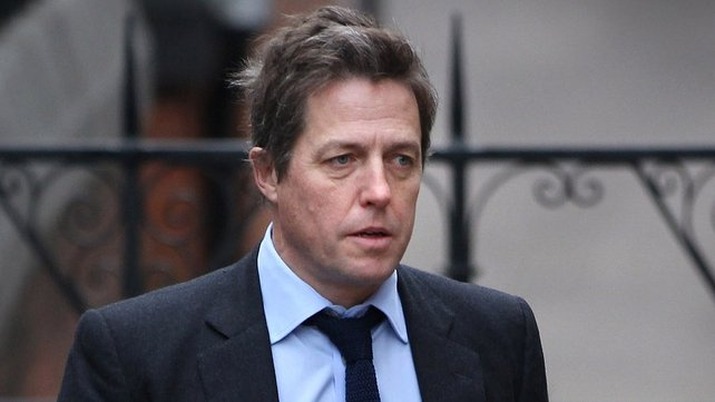 Hugh Grant says that phone-hacking was used by Mail on Sunday and the Daily Mirror