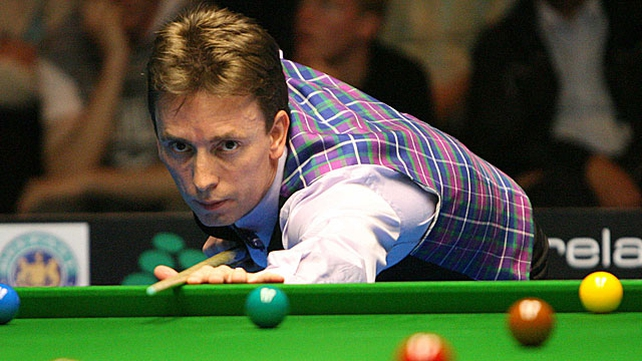 Qualifier Ken Doherty will take on Neil Robertson in the first round in Sheffield