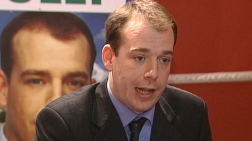 Darren Scully resigned as Mayor of Naas and apologised for making the remarks