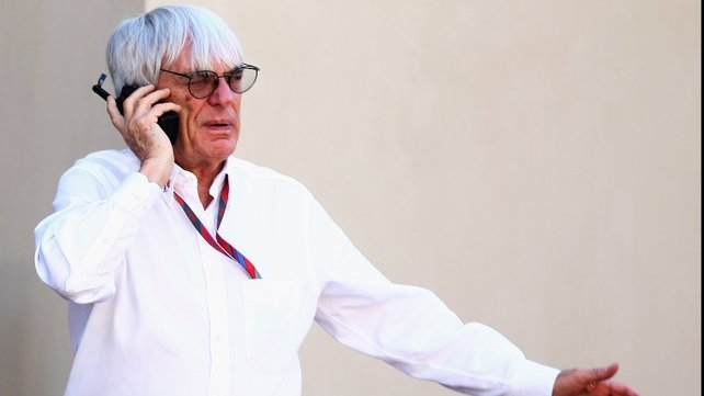 Bernie Ecclestone - Playing hardball over the US Grand Prix