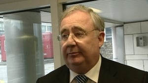Pat Rabbitte said there is still not adequate funding coming from the banking sector