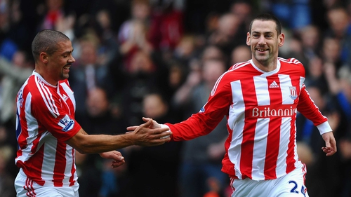 Rory Delap has bid farewell to the Irish boys in Stoke as he heads to Barnsley on loan