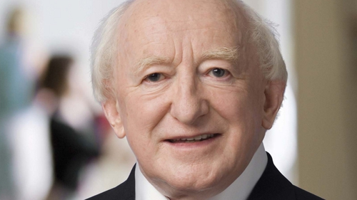 President Michael D. Higgins is sole patron of NSO
